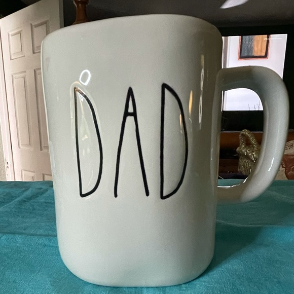 """RAE DUNN """"DAD"""" FATHERS DAY CUP"""